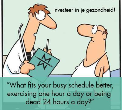Investeer in je gezondheid!
