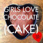 Valentijns chocolade cake