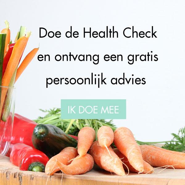 Doe de gratis Health Check