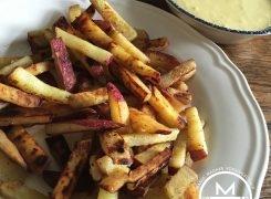 Een gezond frietje mayo